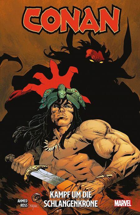 Conan: Kampf um die Schlangenkrone  - Das Cover