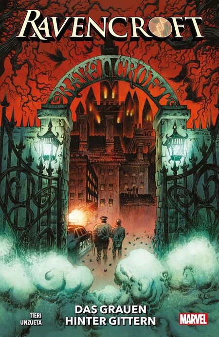 Ravencroft: Das Grauen hinter Gittern  - Das Cover