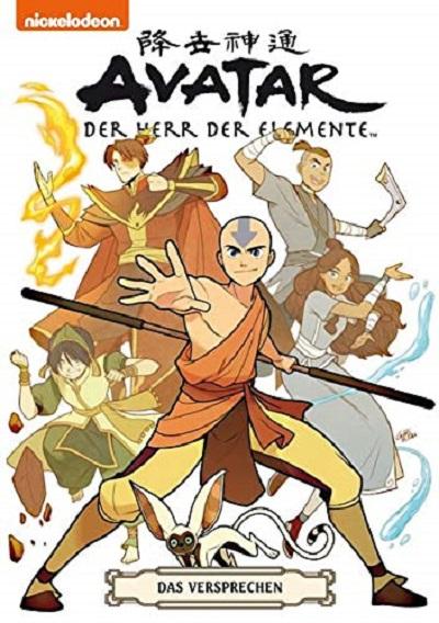 Avatar der Herr der Elemente: Das Versprechen - Das Cover