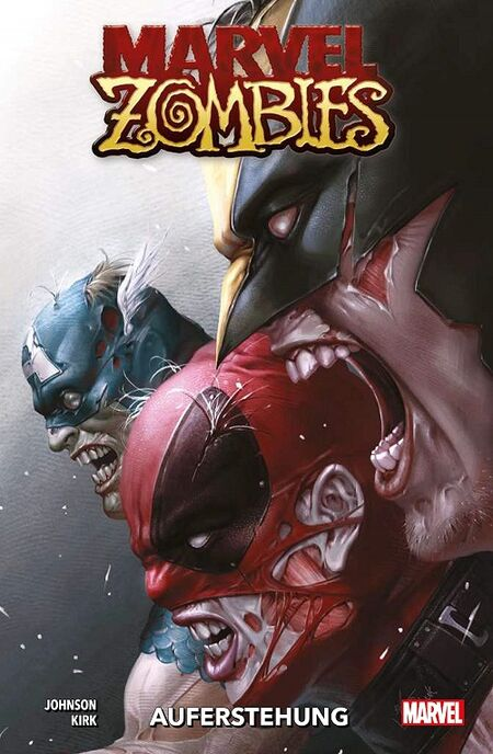 Marvel Zombies: Auferstehung - Das Cover