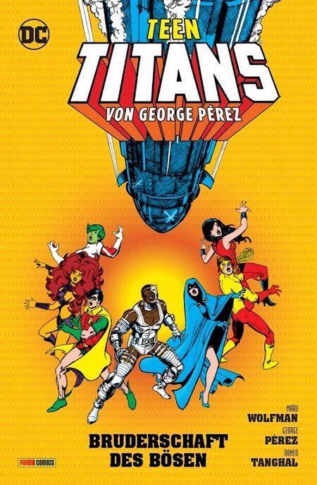 Teen Titans von George Perez: Die Bruderschaft des Bösen - Das Cover