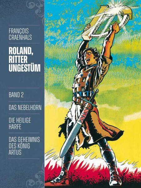 Roland, Ritter Ungestüm 2: Neue Edition - Das Cover
