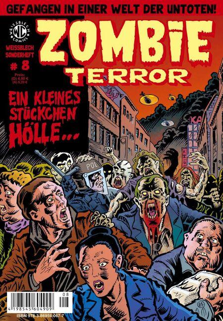 Weißblech Sonderheft 8 – Zombie Terror - Das Cover