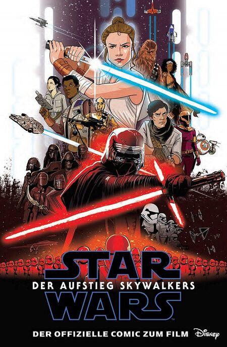 Star Wars: Der Aufstieg Skywalkers – Der offizielle Comic zum Film - Das Cover