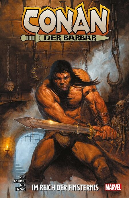 Conan der Barbar 3: Im Reich der Finsternis - Das Cover
