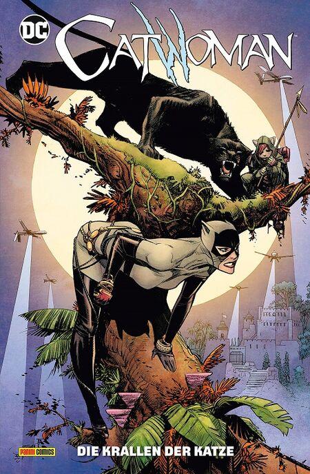 Catwoman 4: Die Krallen der Katze - Das Cover