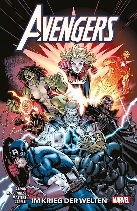 Avengers 4: Im Krieg der Welten - Das Cover