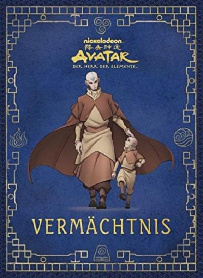 Avatar der Herr der Elemente: Vermächtnis  - Das Cover