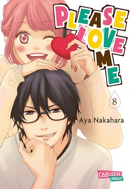 Please love me 8 - Das Cover