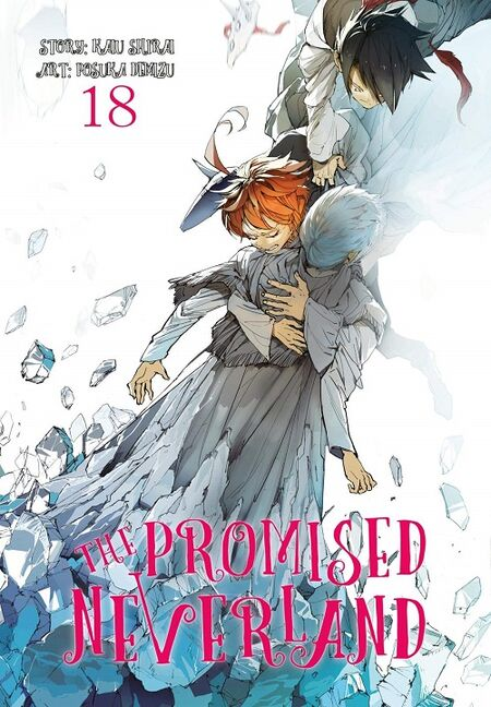 The Promised Neverland 18 - Das Cover