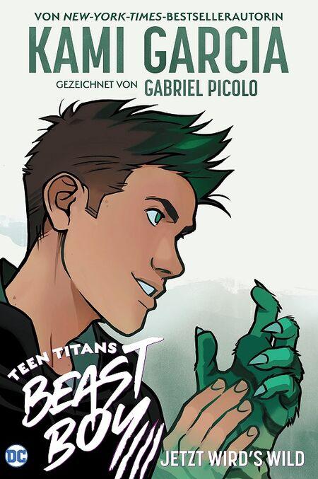 Teen Titans Beast Boy: Jetzt wird´s wild - Das Cover