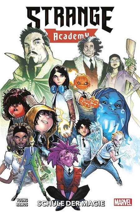 Strange Academy 1: Schule der Magie - Das Cover