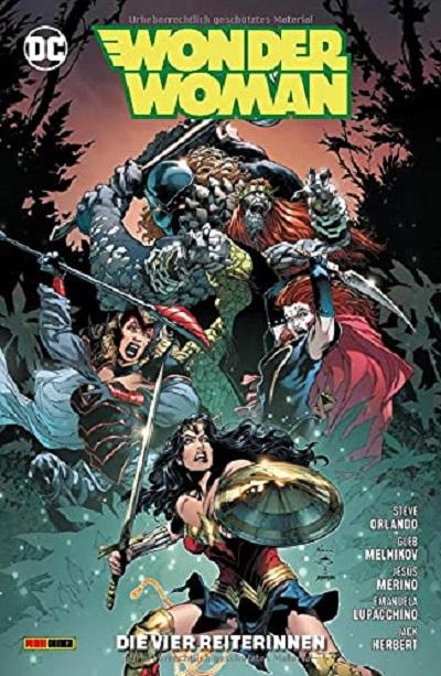 Wonder Woman 14: Die vier Reiterinnen - Das Cover