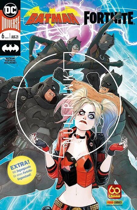 Batman: Fortnite 6  - Das Cover