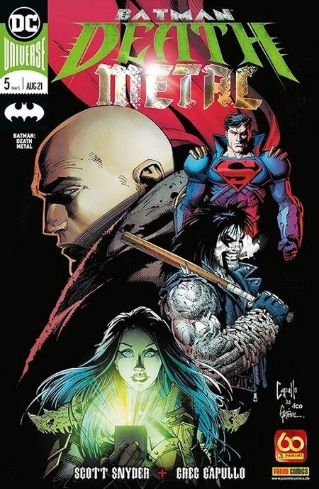 Batman Death Metal 5 - Das Cover