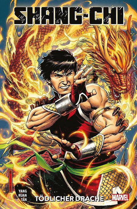 Shang-Chi: Tödlicher Drache - Das Cover