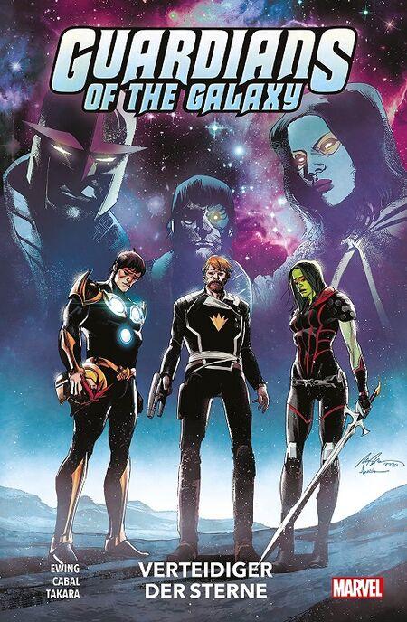 Guardians of the Galaxy -Neustart 4: Verteidiger der Sterne  - Das Cover