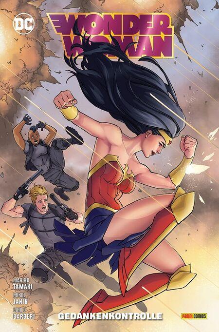 Wonder Woman 15: Gedankenkontrolle - Das Cover