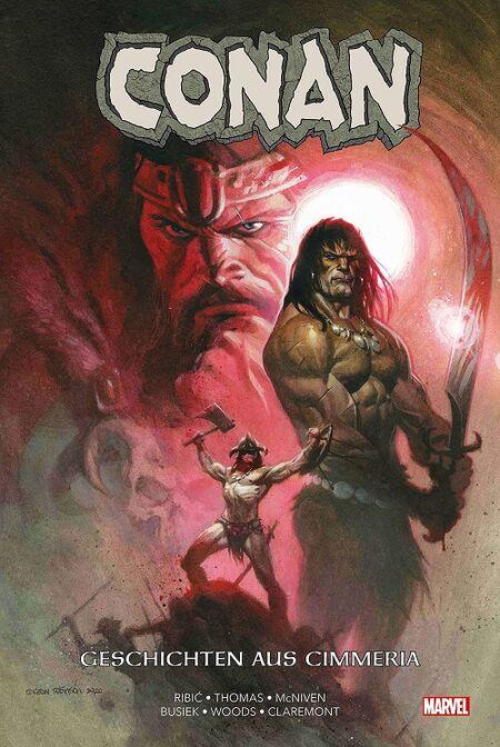Conan: Geschichten aus Cimmeria  - Das Cover