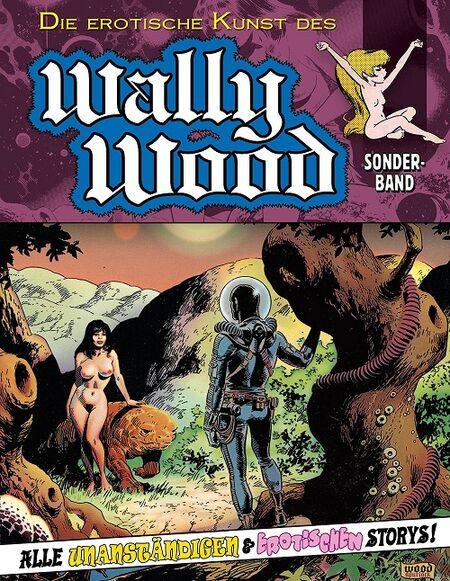 Die erotische Kunst des Wally Wood - Das Cover