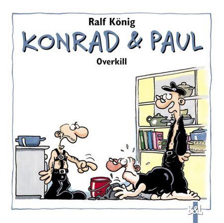 Konrad & Paul - Overkill - Das Cover