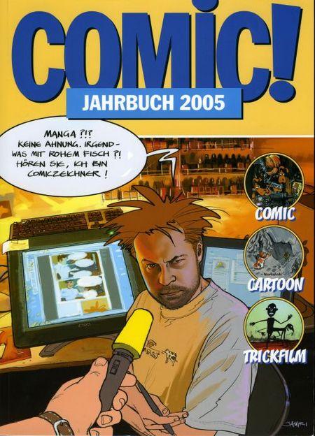 Comic! Jahrbuch 2005 - Das Cover