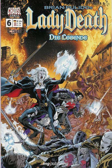 Lady Death - Die Legende 6 - Das Cover