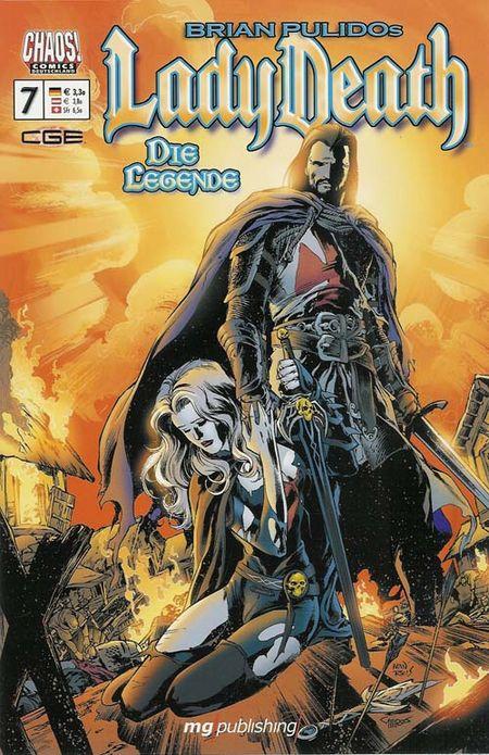 Lady Death - Die Legende 7 - Das Cover