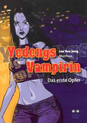 Yodongs Vampirin - Das Cover