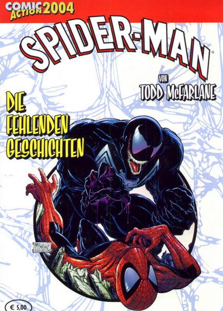 Spider-Man von Todd McFarlane: die fehlenden Geschichten - Das Cover