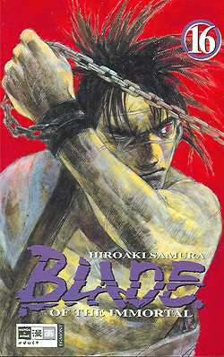 Blade of the Immortal 16 - Das Cover
