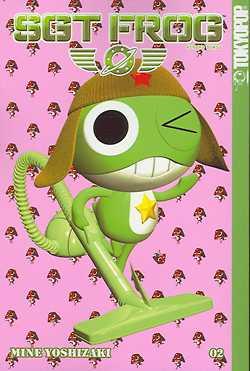 Sgt Frog 2 - Das Cover