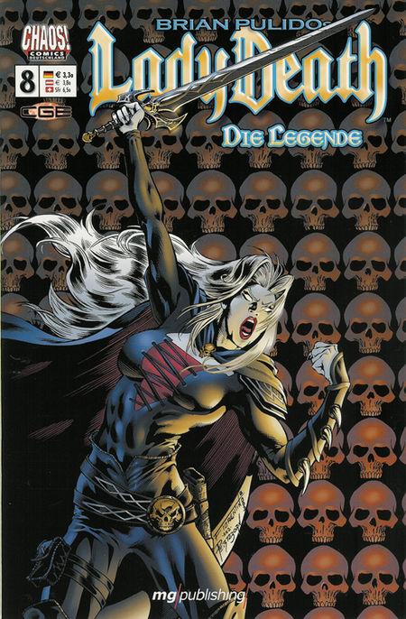 Lady Death - Die Legende 8 - Das Cover