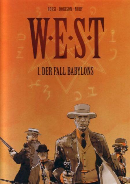 W.E.S.T. - 1. Der Fall Babylons - Das Cover