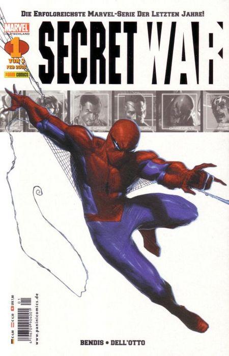 Secret War - Das Cover