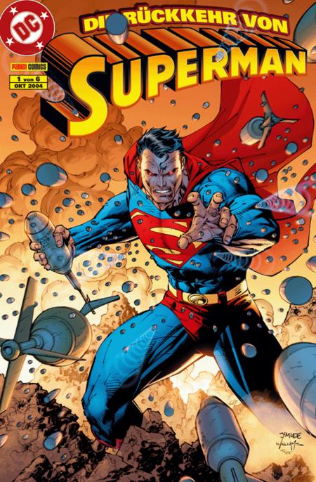 Die Rückkehr von Superman 1 - Das Cover