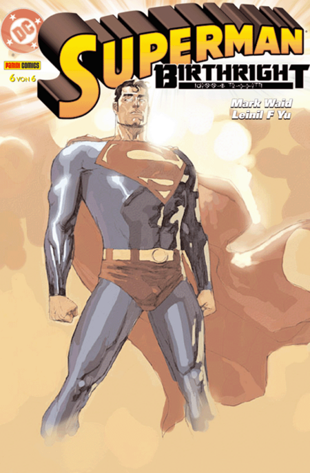 Superman: Birthright 6 - Das Cover
