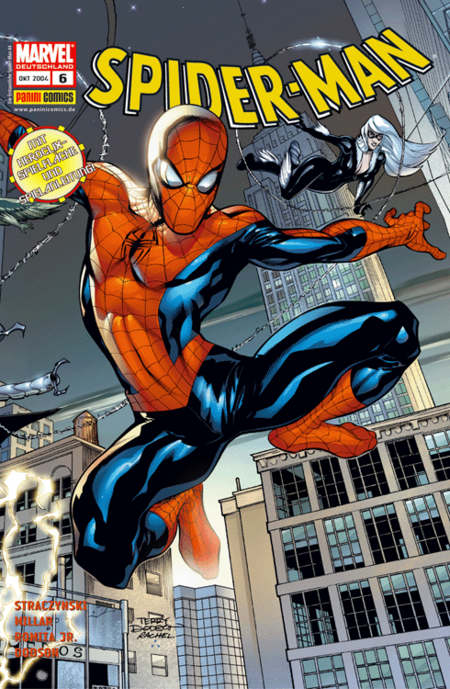 Spider-Man 6 - Das Cover