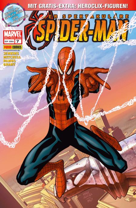 Der spektakuläre Spider-Man 7 - Das Cover