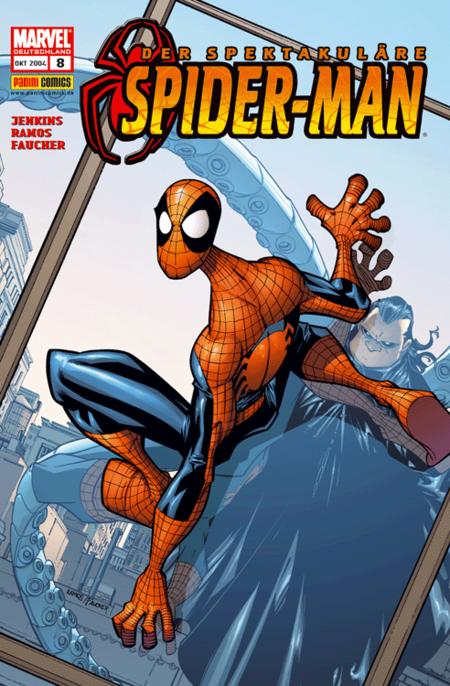 Der spektakuläre Spider-Man 8 - Das Cover