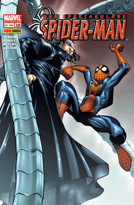 Der spektakuläre Spider-Man 10 - Das Cover