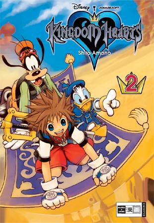 Kingdoms Hearts 2 - Das Cover