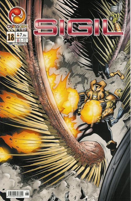 Sigil 18 - Das Cover