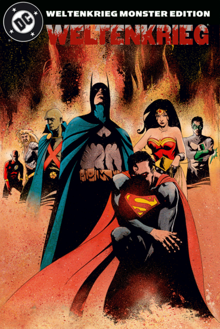 Weltenkrieg DC Monster Edition - Das Cover