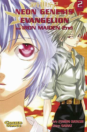 Neon Genesis Evangelion Iron Maiden 2nd 2 - Das Cover