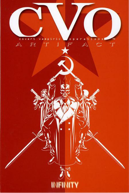 CVO: Artifact - Das Cover