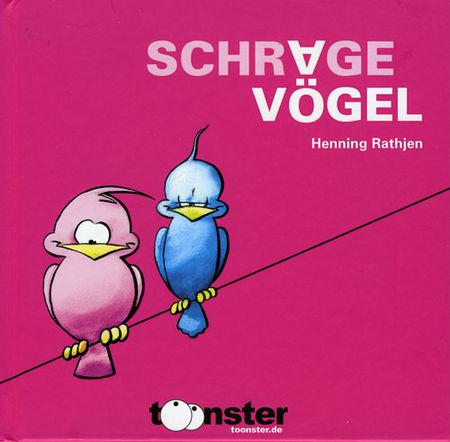 Schräge Vögel - Das Cover