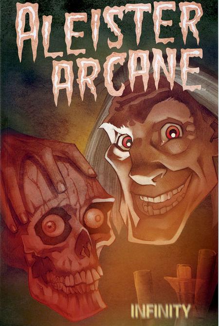 Aleister Arcane - Das Cover