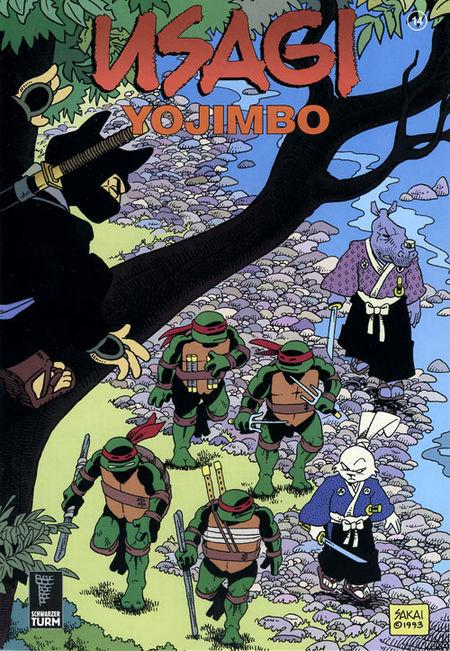 Usagi Yojimbo 14 - Das Cover