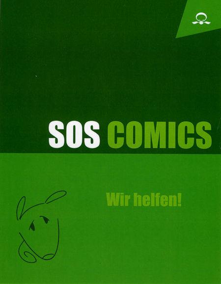 SOS Comics 1 - Das Cover